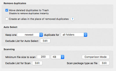 three option of software