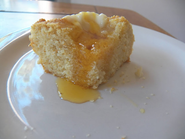 Cornbread made with Turkey Schmaltz