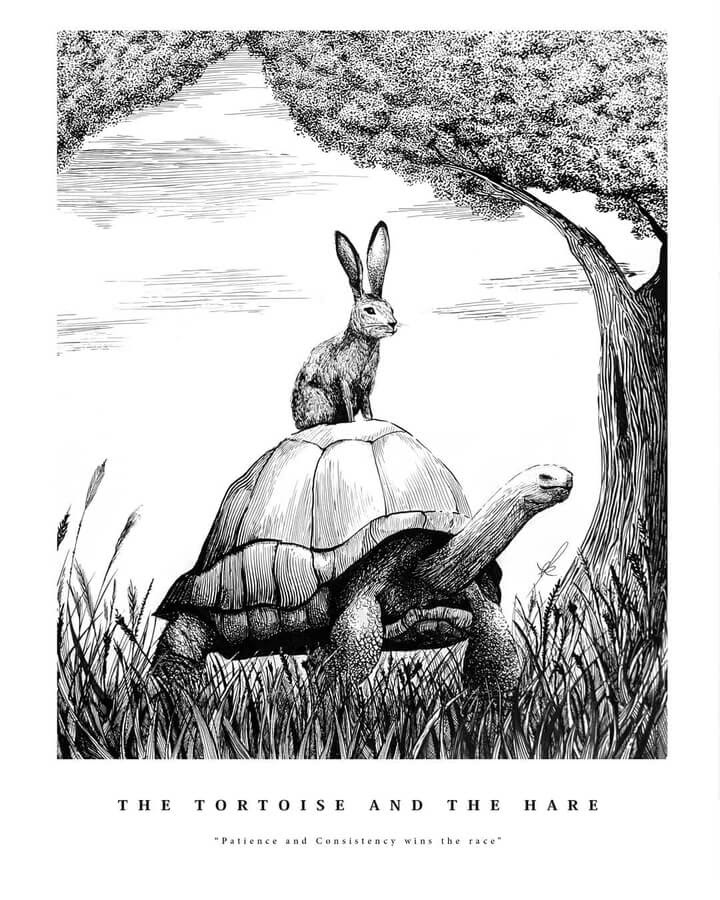 01-The-tortoise-and-the-hare-www-designstack-co