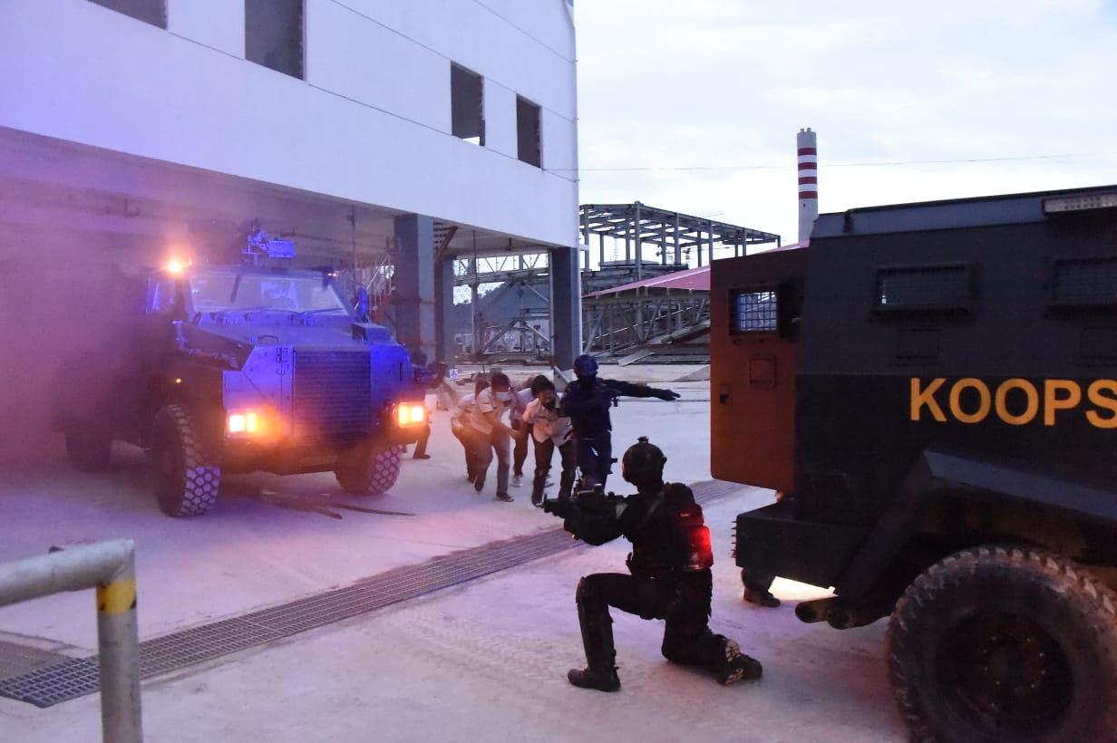 Koopssus TNI Laksanakan Operasi Pembebasan Sandera di Selat Malaka