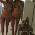 Sisters, Kendall and Kylie Jenner showed off their hot bods