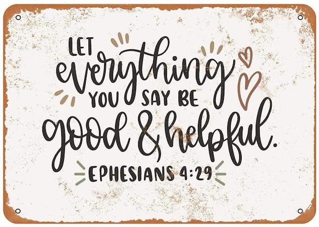 Ephesians 4:29 Artwork