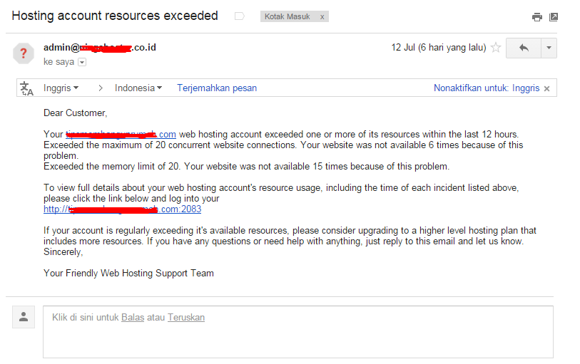 cara mudah pindah hosting