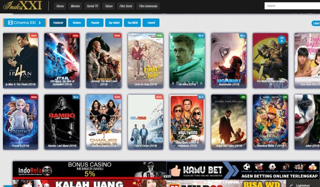 Indoxxi Situs Video Terlarang di Indonesia