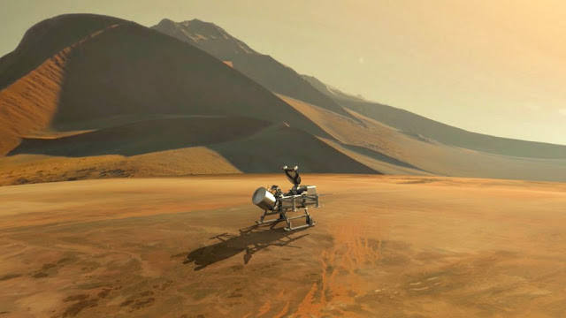 Dragonfly - missão lua de Saturno Titã