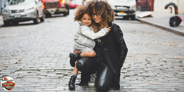 "Header image of the article: ""Personal Development Advice For People With Kids"". Daughter and Mother, Personal Development"