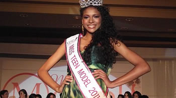 Janet Leyva es Miss Teen Model 2011