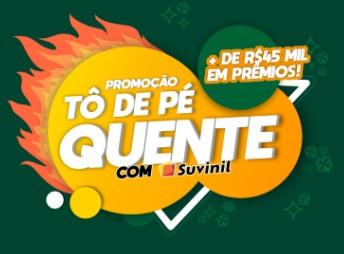 Cadastrar Promoção Suvinil 2021 Tô de Pé Quente 45 Mil em Prêmios