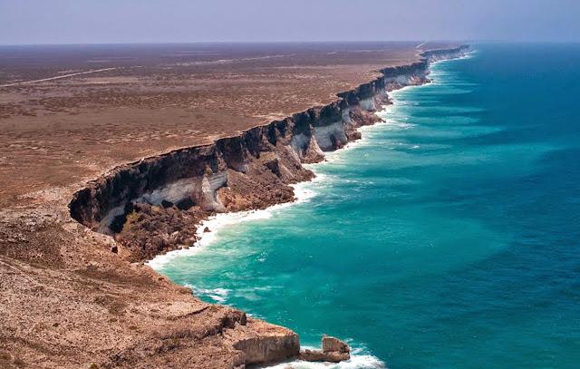 Falésia mais extensa do mundo
