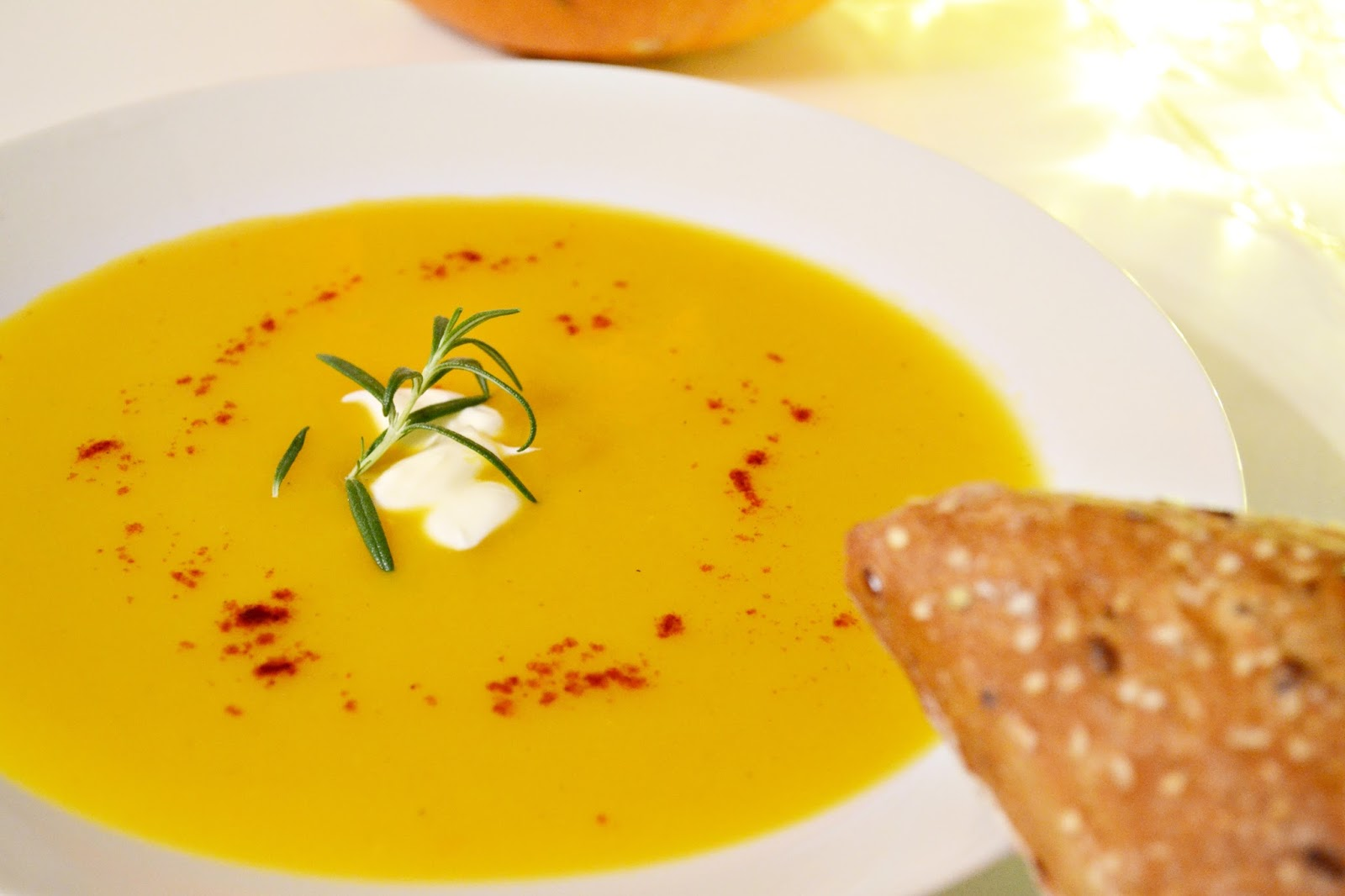 zupa dyniowa przepis