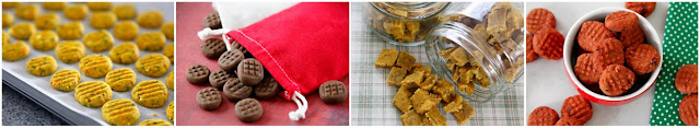 Ideas for simple homemade dog treats without rolling and cutting