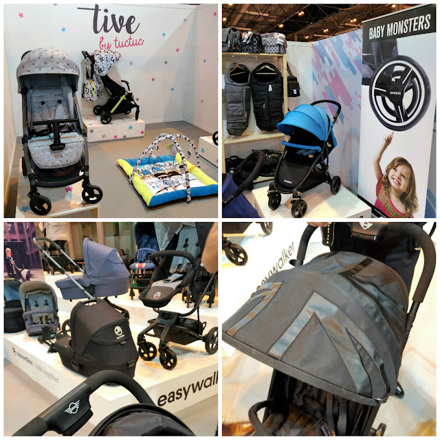 Sillas paseo tuc tuc easywalker mini xs babymonsters feria puericultura Madrid