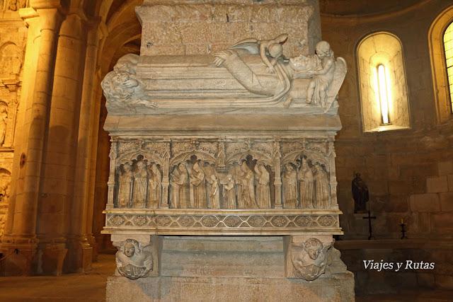 Panteón real de la iglesia del Monasterio de Santa María de Poblet, Tarragona
