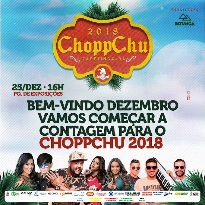 AGENDE AÍ | 25/12 - Atrações de peso confirmadas no Chopp Chu em Itapetinga