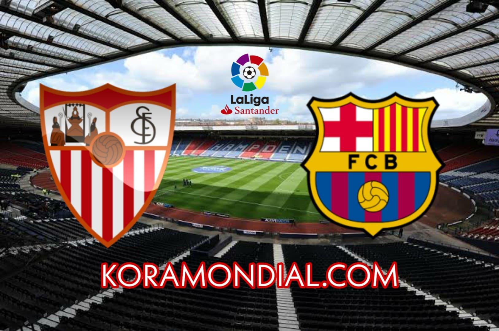 مشاهدة مباراة برشلونة و إشبيلية