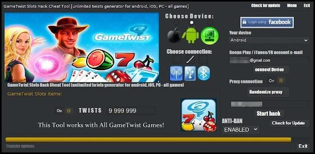 Gametwist Hack