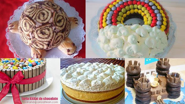 Tartas especiales para niños. Julia y sus recetas