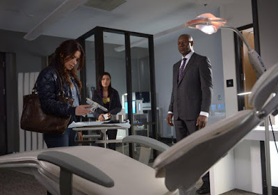 Reverie (series) Sarah Shahi and Dennis Haysbert Image 3