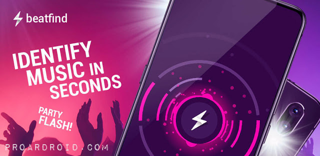 تطبيق Music Recognition v1.2 لتعرف على الموسيقي النسخة المدفوعة للأندرويد logo