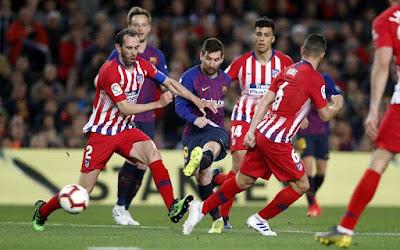 مشاهدة مباراة برشلونة واتلتيكو مدريد بث مباشر اليوم 01-12-2019 في الدوري الاسباني