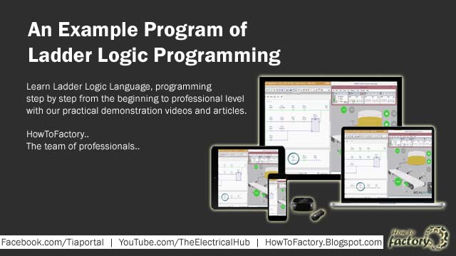 An Example Program of Ladder Logic Programming - Marine