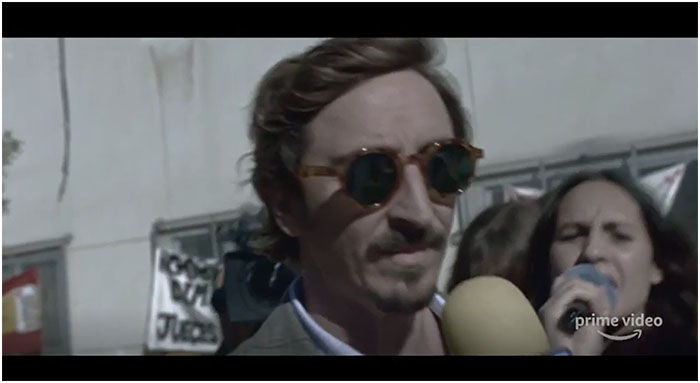 Iván Massagué interpreta a Julián López de Haro en «Parot»