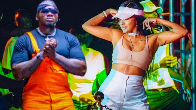 Tanasha Donna and Kaligraph Jones new song photo and video