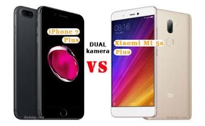 Xiaomi Mi 5s Plus VS iPhone 7 Plus