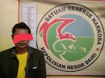 Miliki Ganja, Warga Desa Adiannangka Kecamatan Siempat Nempu Diciduk Petugas
