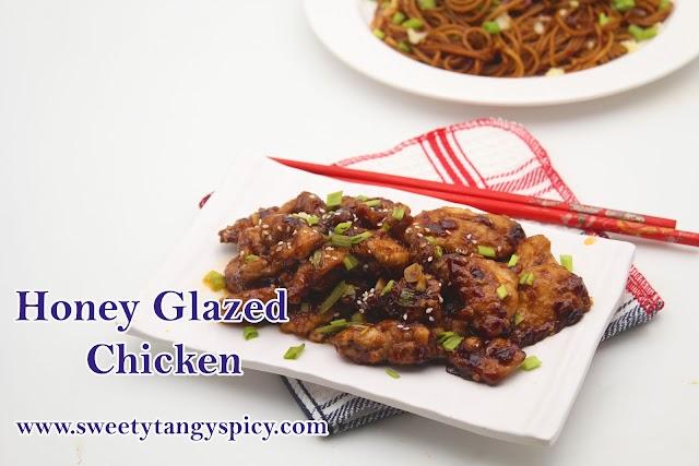 Honey Glazed Chicken   Honey Chili Chicken   How To Make Honey Chili Chicken Easily