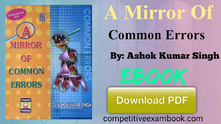 [PDF] A Mirror Of Common Errors E-Book By Dr. Ashok Kumar Singh