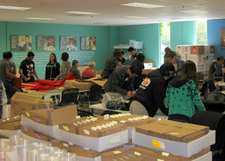 Volunteers at work, Resource Area for Teachers, Sunnyvale, California