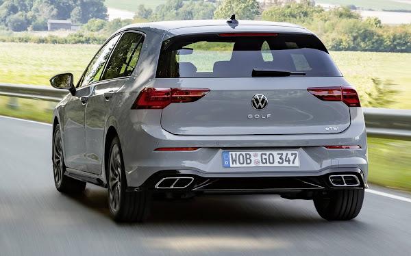 VW Golf Mk8 eleito melhor carro até € 25.000 - Alemanha