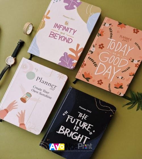 Tempat Cetak Buku Agenda Custom Murah di Cipayung, Jakarta Timur