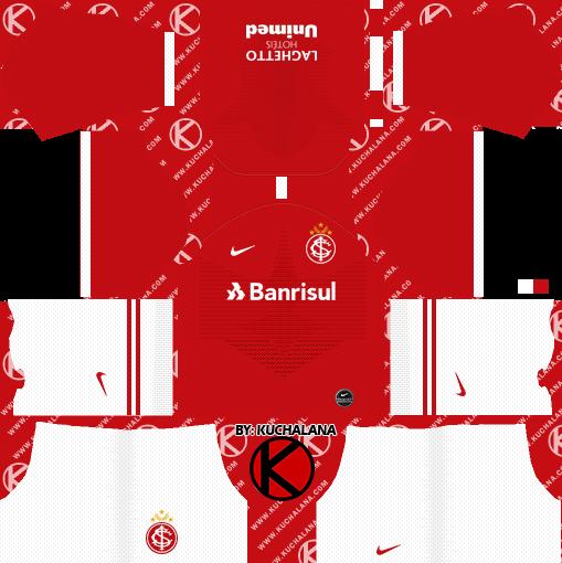 donde quiera recuperación Preciso  SC Internacional 2019-2020 Kits - Dream League Soccer Kits - Kuchalana
