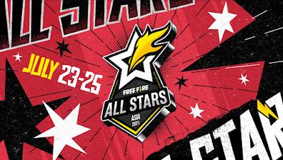 Influencer dan Pro Player Esports Indonesia Ramaikan Free Fire All-Stars (FFAS) 2021 Asia