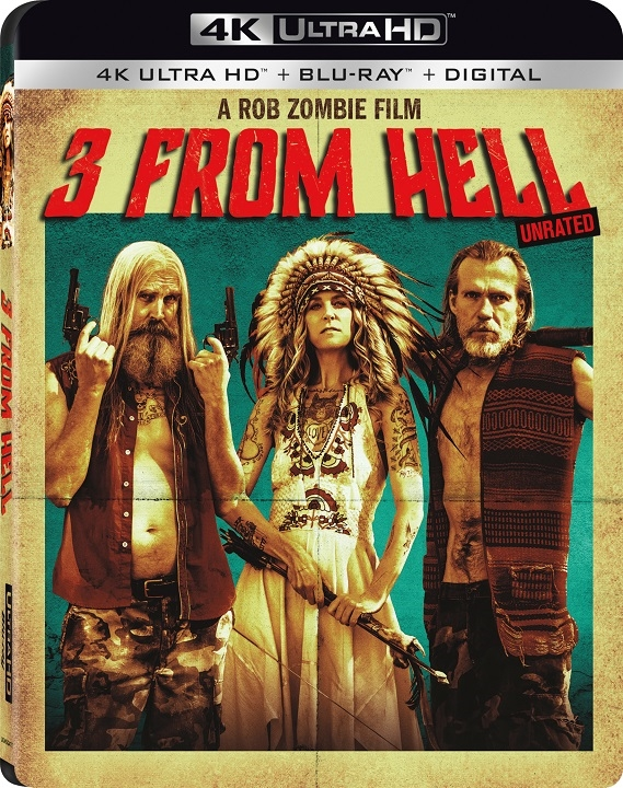3 From Hell Officially Announced By Lionsgate on 4K Ultra HD Combo Pack October 15