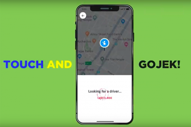 Go-Jek memperluas layanan ke seluruh Singapura