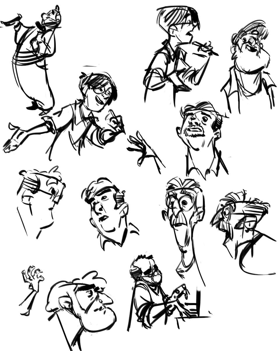 duker  random sketches
