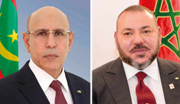 الديوان الملكي: أبدى جلالة الملك ، استعداده للقيام بزيارة رسمية للجمهورية الإسلامية الموريتانية