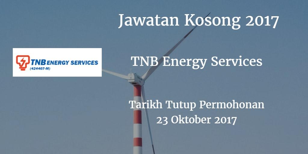 Jawatan Kosong TNBES 23 Oktober 2017