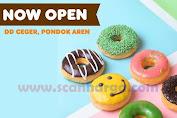 Promo Dunkin Donats Grand Opening DD Ceger Pondok Aren
