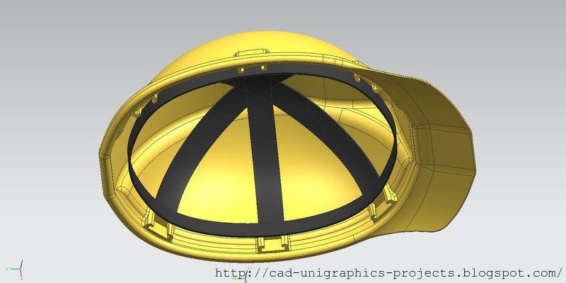 CAD designs by Ivan: Worker helmet (free CAD download file)
