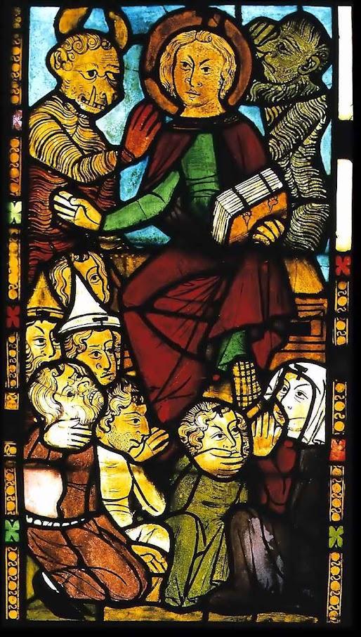 O Anticristo. Igreja de Santa Maria em Frankfurt, Alemanha