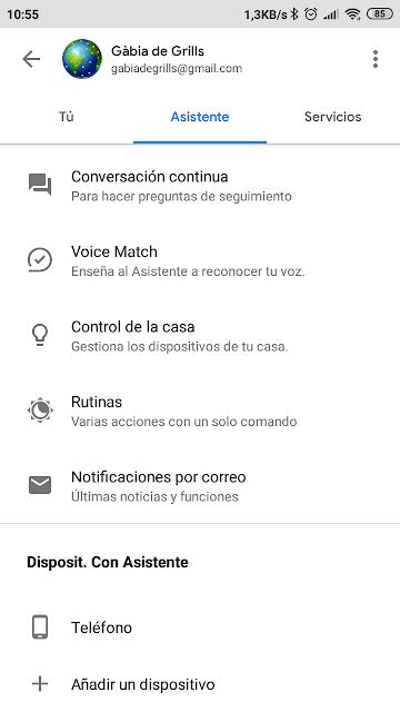pantalla-ajustes-app-google-home
