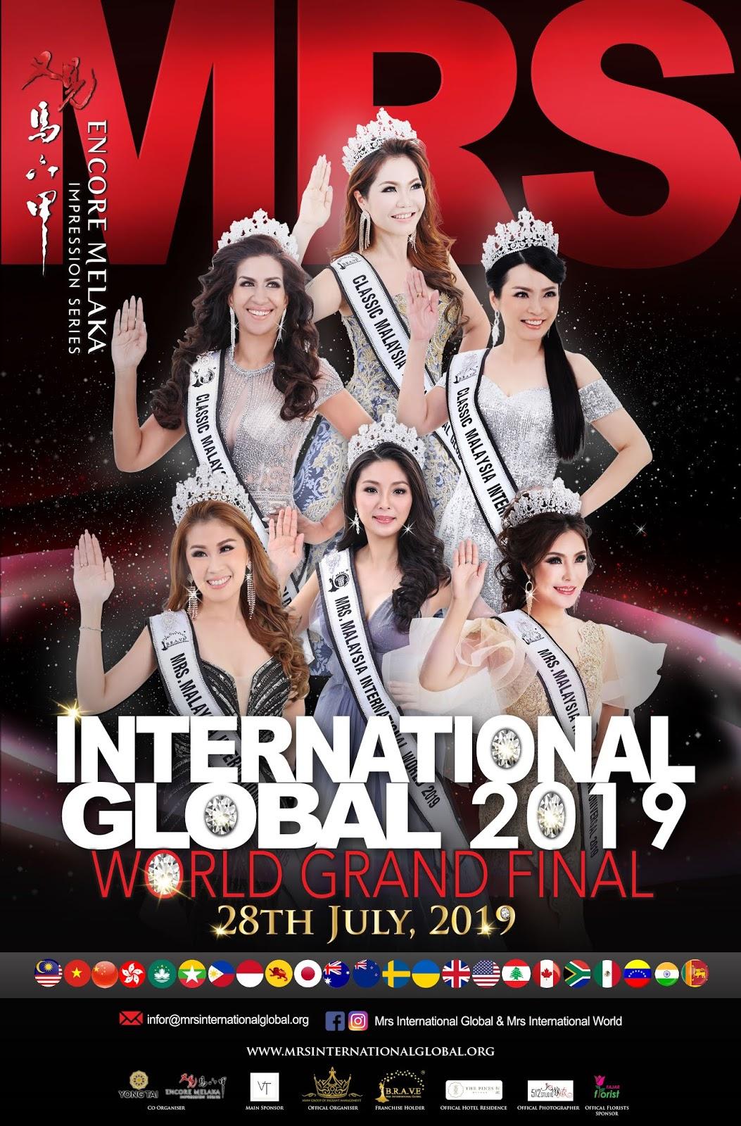 movie 2019 malay MRS INTERNATIONAL GLOBAL 2019 WORLD GRAND FINAL
