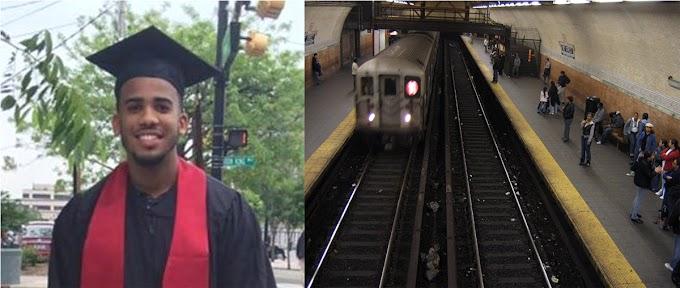 Identifican dominicano recién graduado que se suicidó lanzándose a tren en el Alto Manhattan