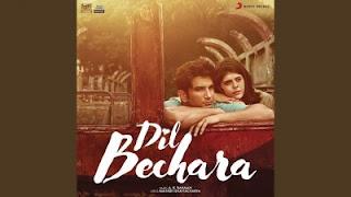 Mera Naam Kizie Lyrics Dil Bechara Aditya Narayan ft Sushant Singh Rajput