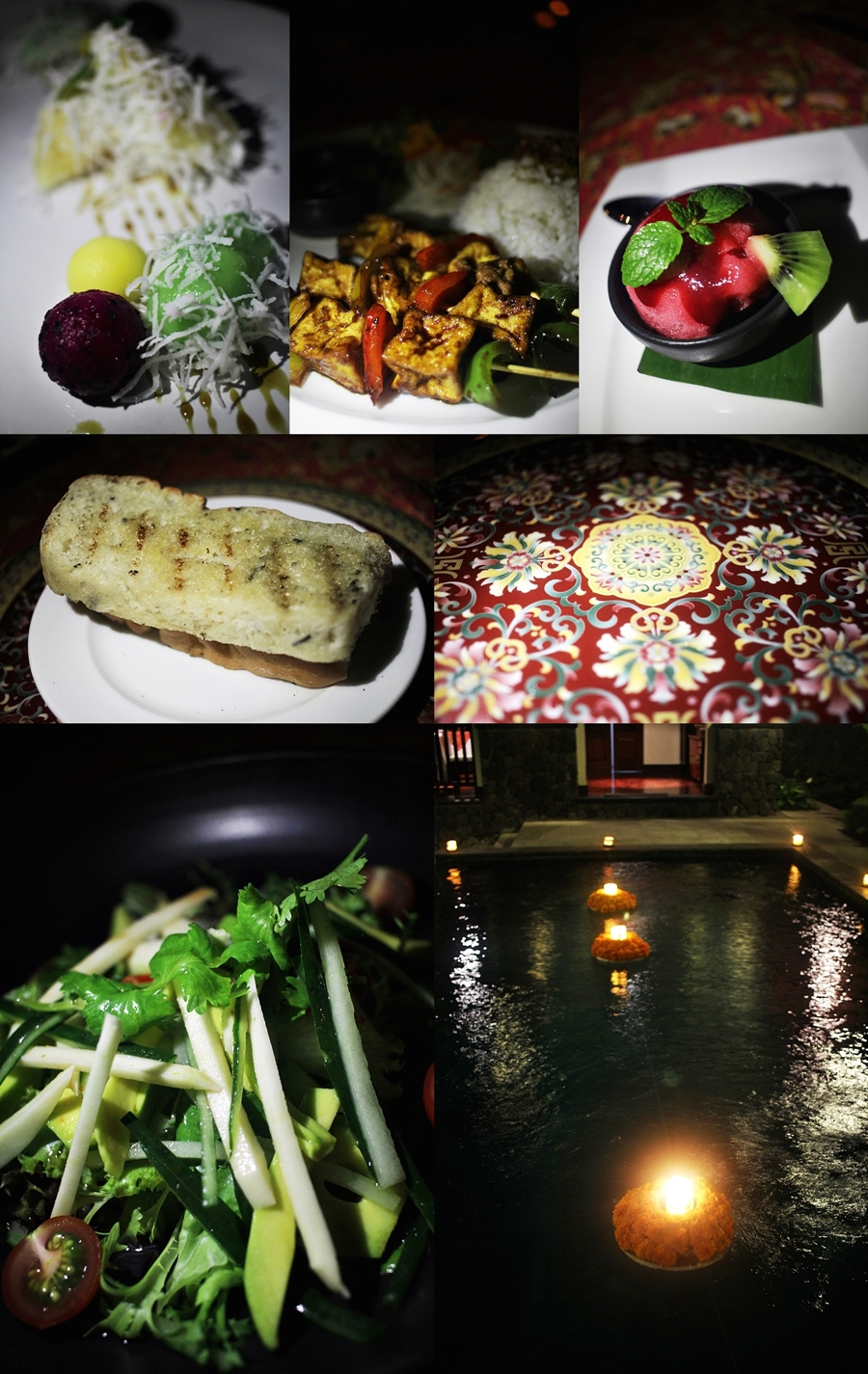 kayumanis ubud restaurant dinner food vegan