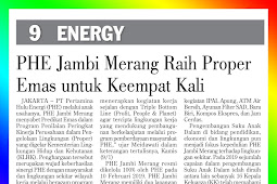 PHE Jambi Merang Wins Proper Gold for the fourth time